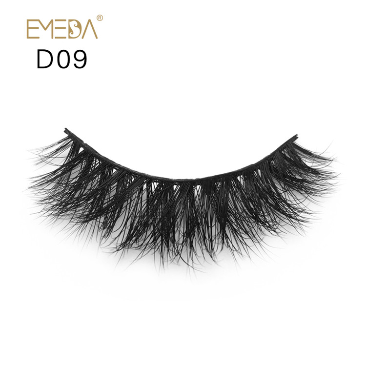 Natural Model Top 3d Mink Fur Eyelashes Y-71-PY1