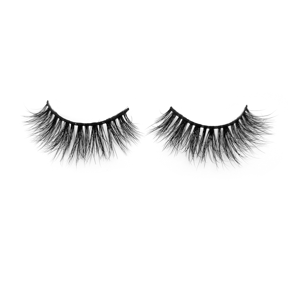 Fast Delivery for Wholesale Price 22MM 3D Mink Strip Lashes with Customized Box  YY84
