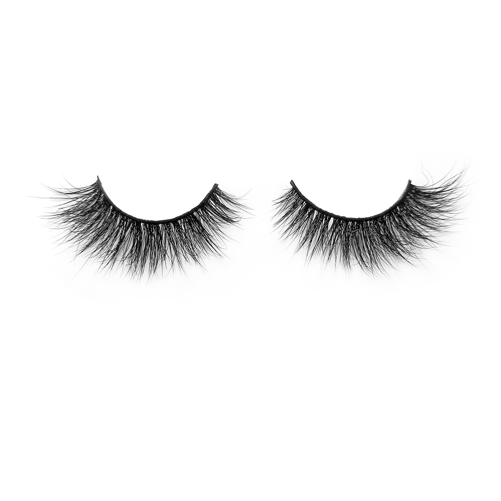 Best Eyelash Vendor Supply Wholesale Price 3D Mink Strip Lashes with Customized Package Soft and Natural Style In the US YY86