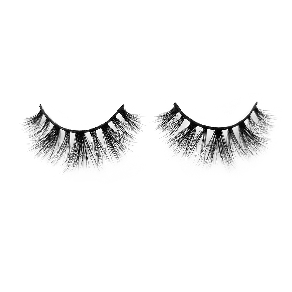 China Mink Strip Lash Vendors Supply Wholesale Price 100% Real Mink Fur 3D Eyelashes in th US Canada YY80