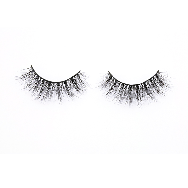Best Selling Real Mink Strip Lashes with Private Box 100% Mink Fur Eyelashes in the US YY140