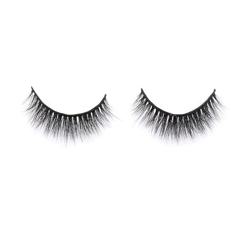 Private Box for Wholesale Price 100% Mink Fur Strip Lashes Natural Styles Eyelashes in the UK and US YY144