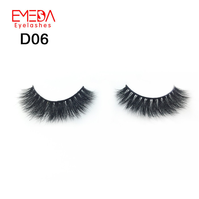 Whosale private label  3D mink eyelash YP51