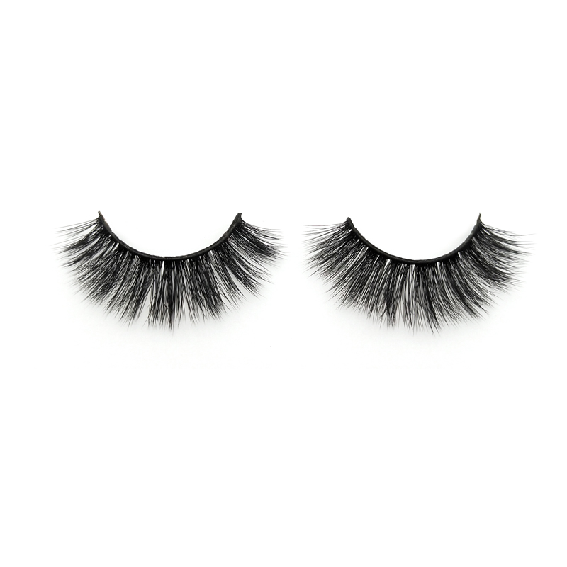 Private label 3D silk eyelashes suppliers factory price JN35