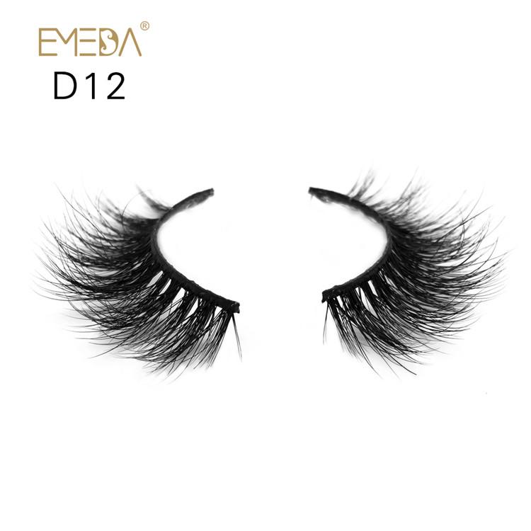 Luxury eyelashes Mink 3D Lashes Vendor JH-PY1 - Emeda eyelash