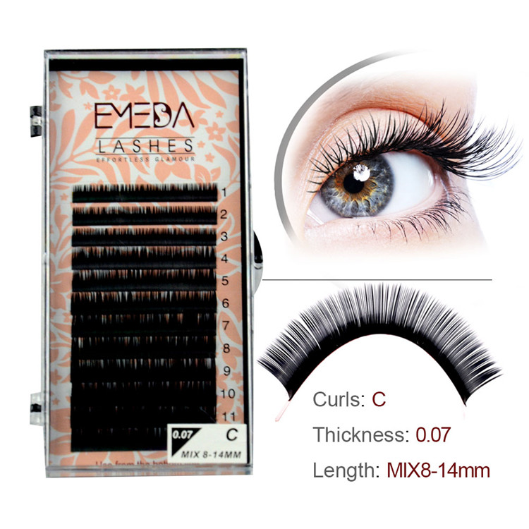Private Lable Faux Mink Eyelash Extensions PY1