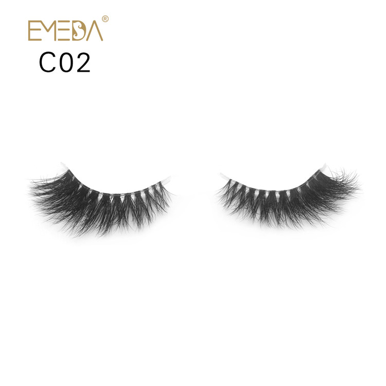 Wispy Lashes Pretty Tiny 3d Mink Eyelashes Y-56
