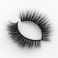 Natural 3d mink fur eyelashes with own brand YP