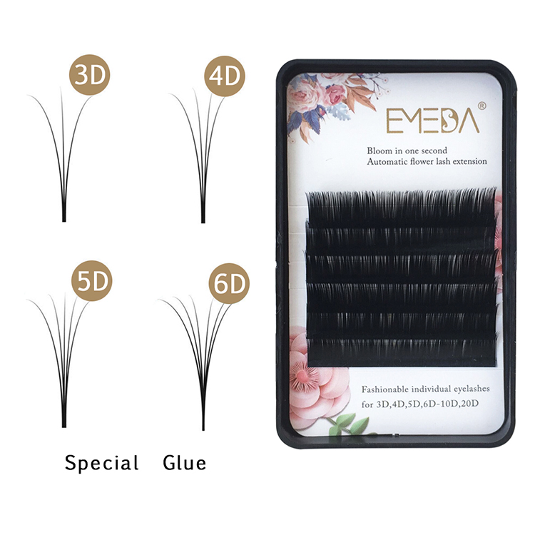Eyelash Vendors Wholesale Automatic Flowering Eyelashes PY1