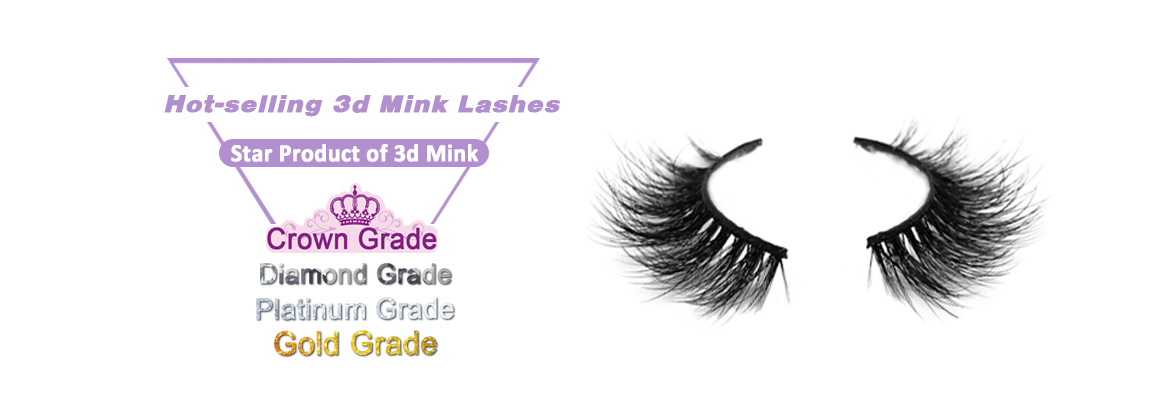Best-selling 3D mink lashes
