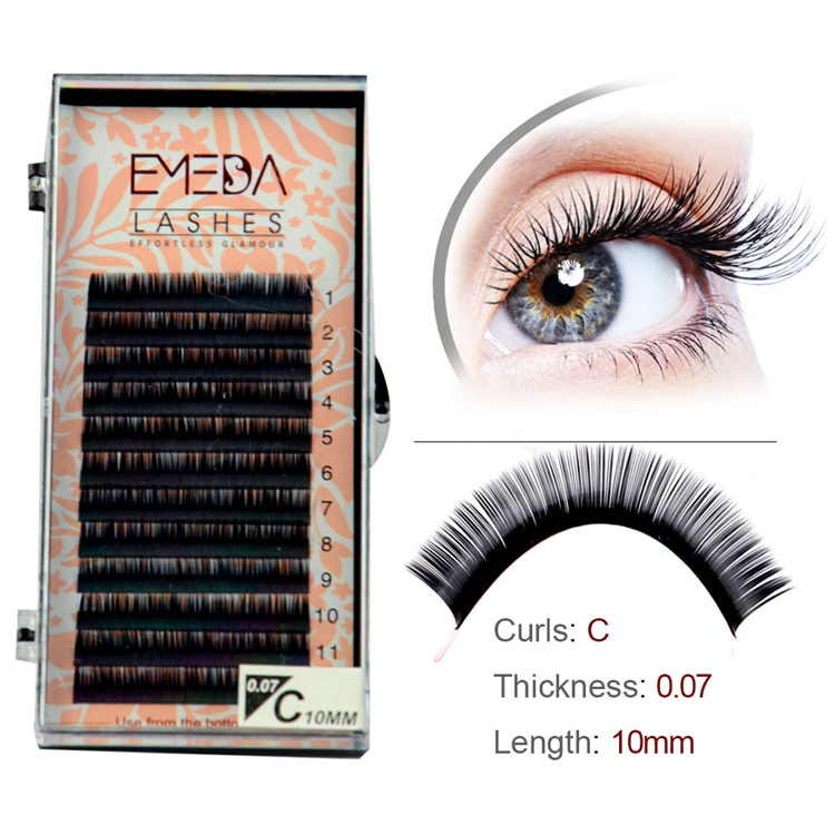 Private Label Eyelash Extensions 4% Discount JS-PY1