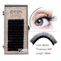 Own brand eyelashes extension factory  JH86