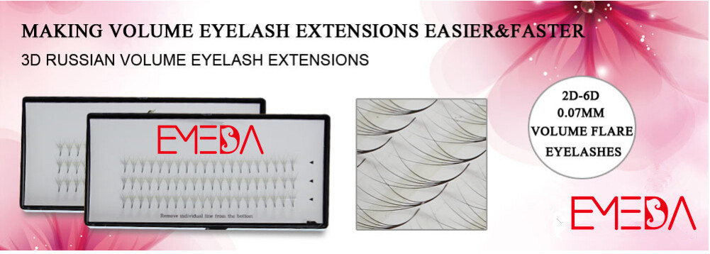Flare lash extension