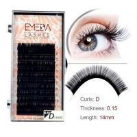 Wholesale Silk mink eyelash extension supplier SN145