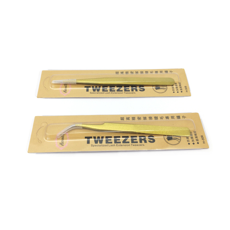Wholesale Stainless steel eyelash tweezer JH112