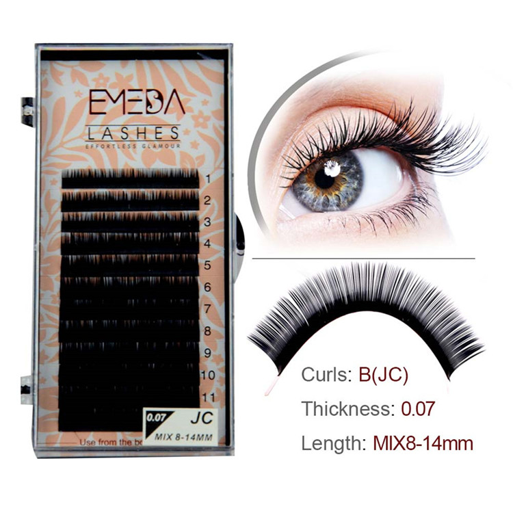 Lash Vendors Wholesale Eyelash Extensions Y-4 - Emeda eyelash