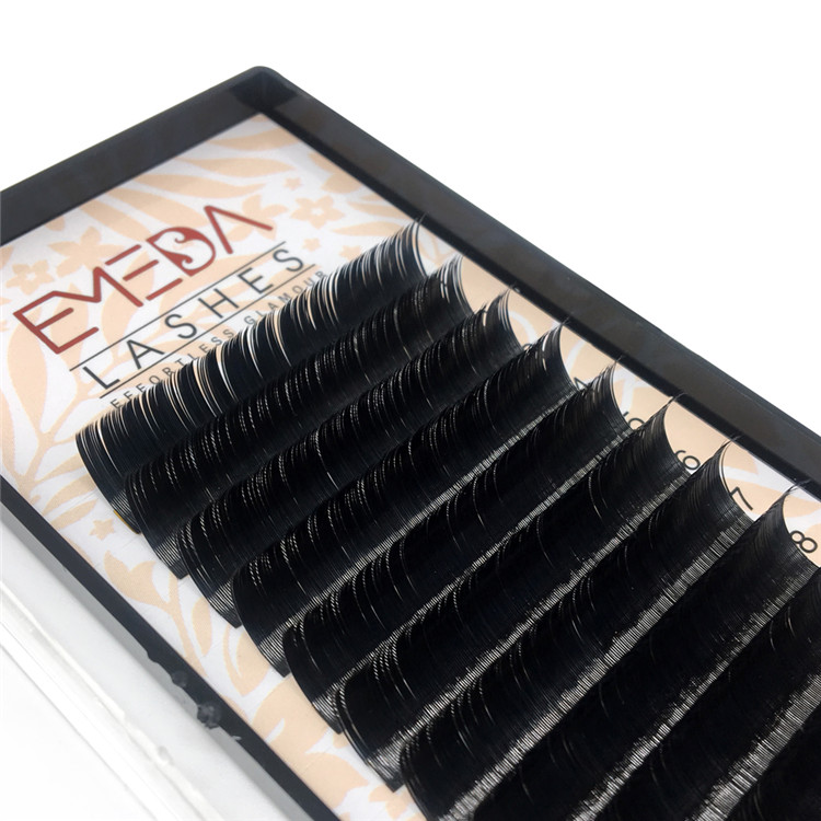 Natural Flat Eyelashes Extensions Vendors Y-7