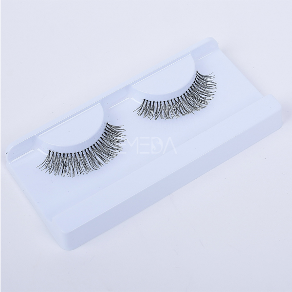 eyelash natural human hair eyelash L45