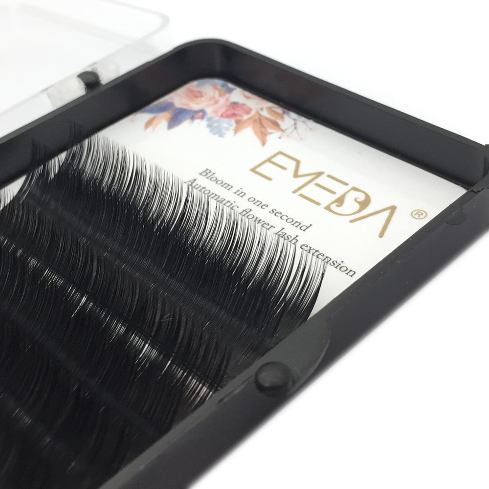 Fashionable Individual Eyelashes Automatic Flowering Lashes