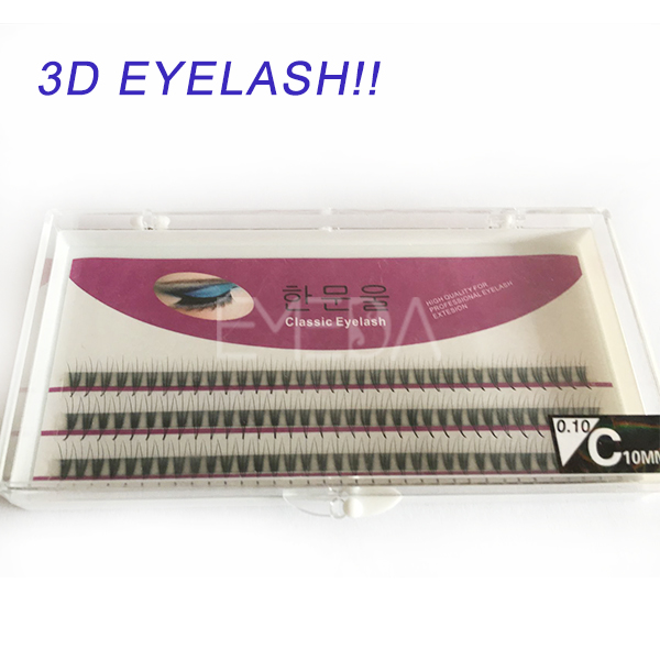 Luxury private label 3d eyelash extension S019