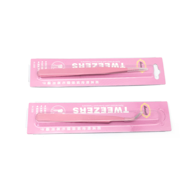 Wholesale price eyelash extensions tweezer JH110
