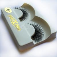 3D silk cheap longer lash with  eyelash glue S84