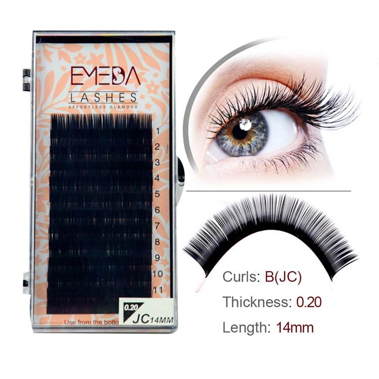 Korean Synthetic Fake Eyelash Extensions Py1 Emeda Eyelash