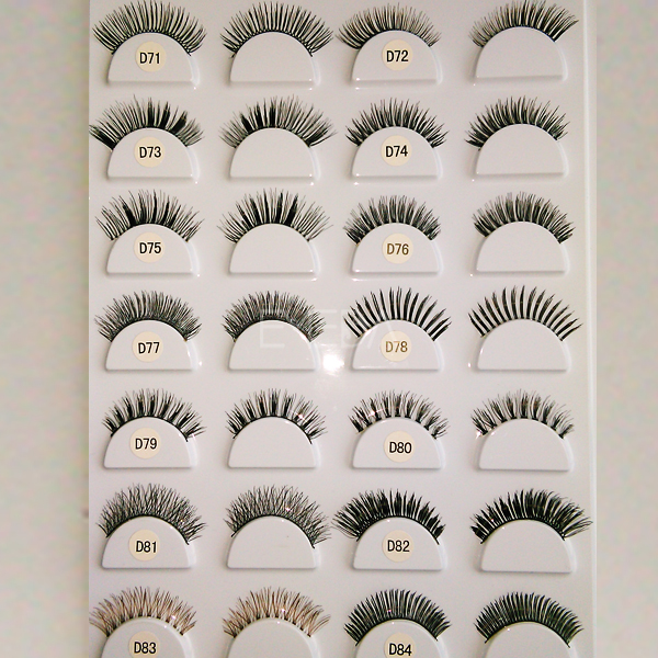 false eyelashes L127