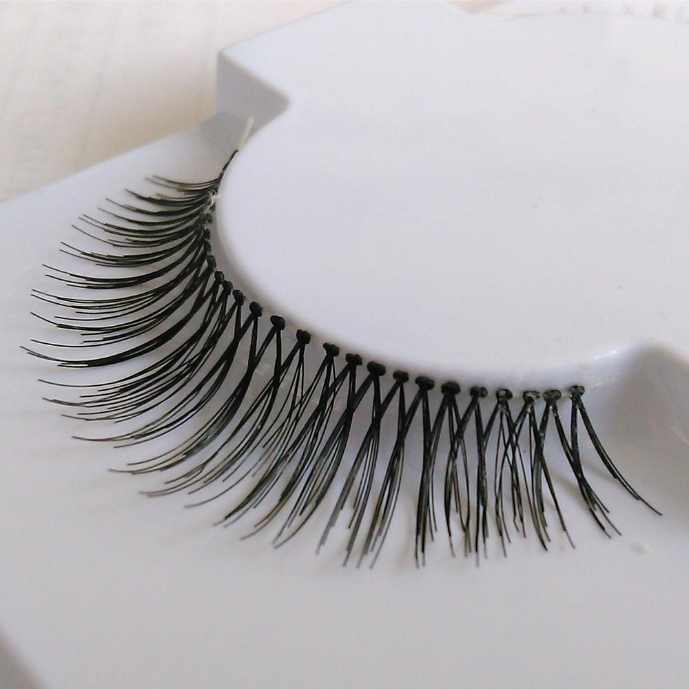 Faux Human Hair Eyelashes China Whoelsale Faux Human Hair Eyelashes