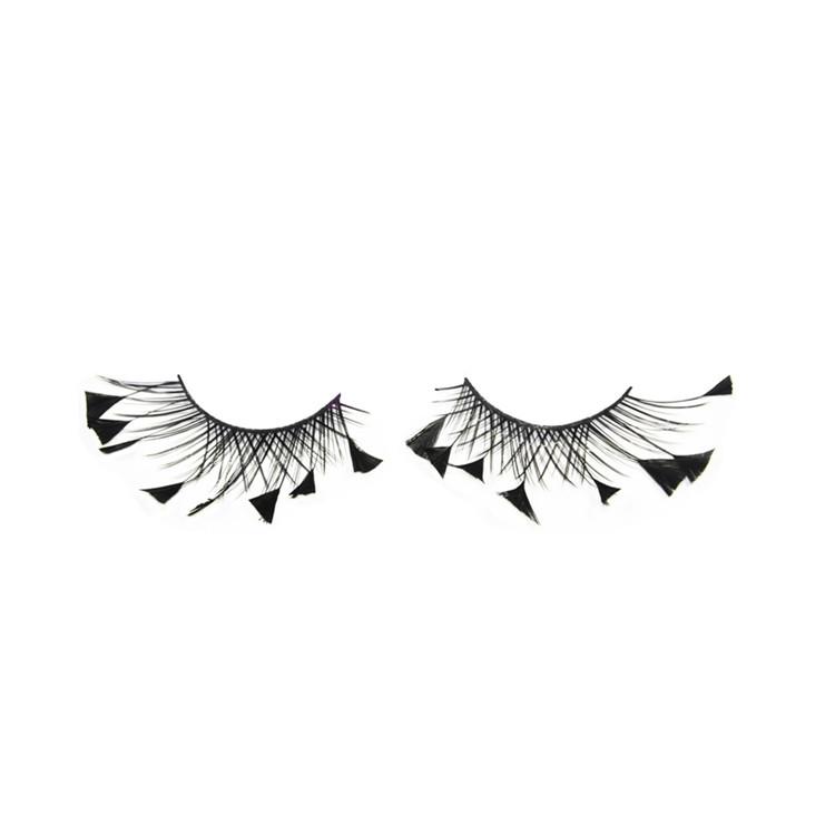 Best Brand Unique Glitter Feather Eyelashes Y 18 Emeda Eyelash