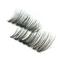 Mixed  black and brown magnetic eyelashes Y-5
