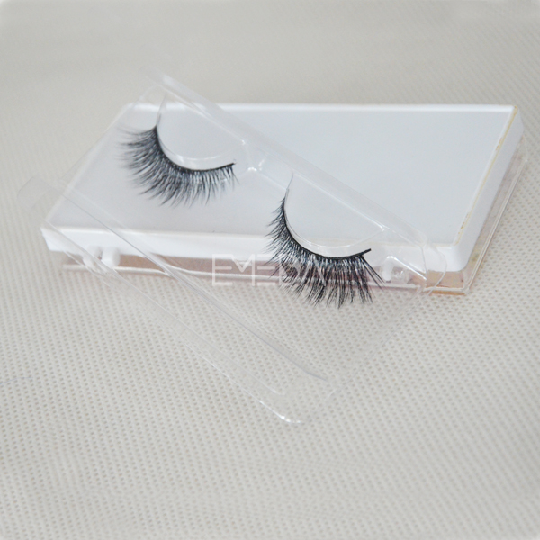 Low cost best quality fake eyelash extension W55