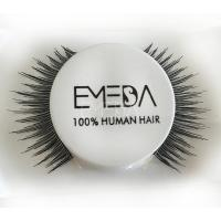Hand made human hair best false eyelashes S67