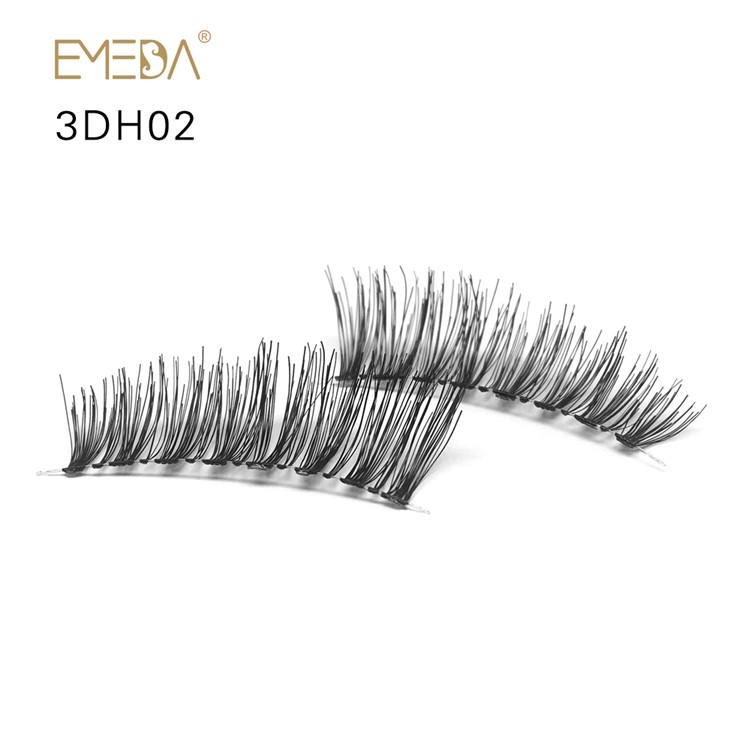Private Label 100 Real Human Hair Eyelashes Py1 Emeda Eyelash