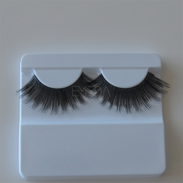 100% human hair false eyelash,Hand made  L51