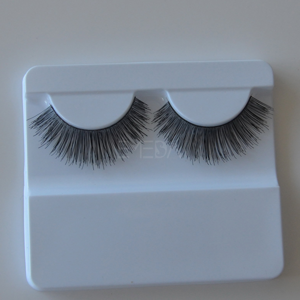 Pure handmade 100% human hair  eyelashes L54