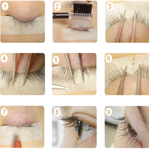 False eyelash extention 8mm 10mm 12mm l40 china wholesale false our products fox fur eyelash paper eyelash human hair eyelash horse fur eyelash synthetic hair eyelash feather eyelash japanese and south korean pmusecretfo Image collections