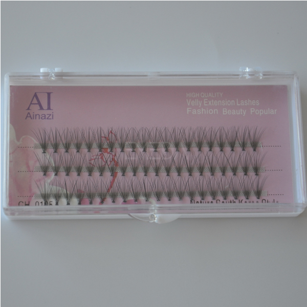 Knot free synthetic  eyelash extensions L61