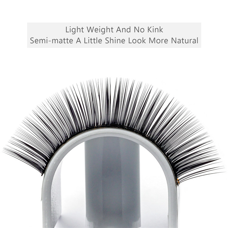 Provide different eyelash extensions options silk/mink/sable materials EL