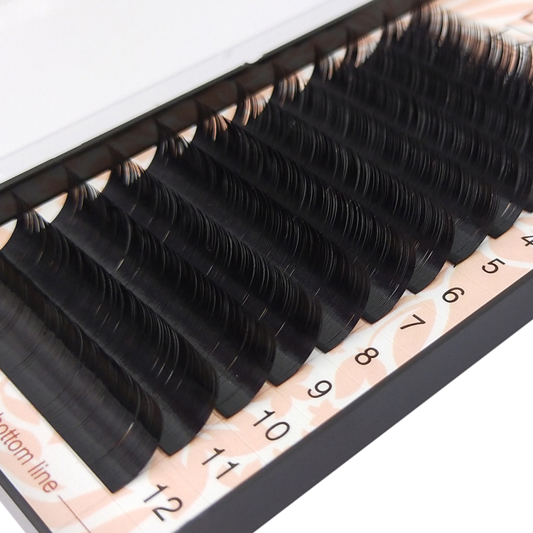 Synthetic Eyelash Extensions Products 16 17 18mm Dramatic Looking EL-PY1