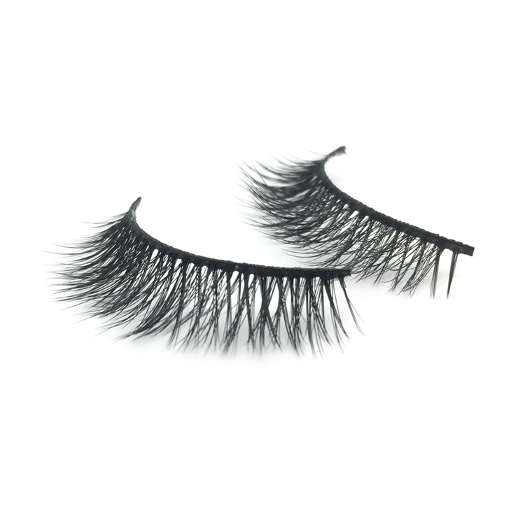 Supply High Quality Custom Private Label 3d Silk False Eyelashes