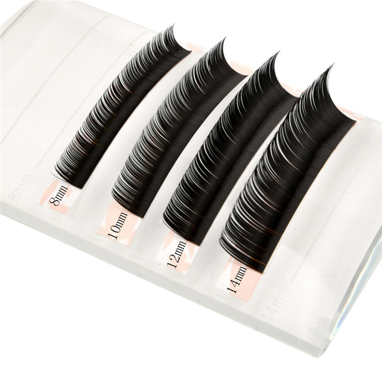 Good eyelash extensions individual lashes door to door shipment EL