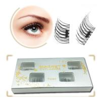 Supply reusable pretty magnetic eyelashes Y-13
