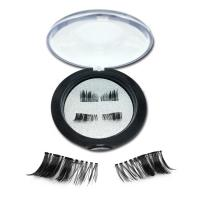 Latest own brand silk magnetic eyelashes JH68
