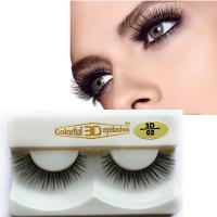 best silk mink fur false eyelashes S76