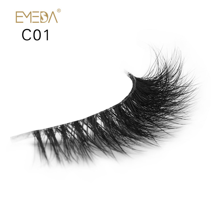 Best-selling 3D Mink Eyelash Crown Grade Top Quality JE-PY1
