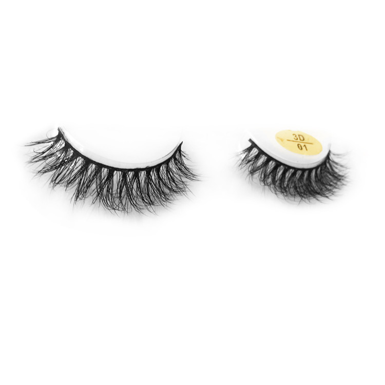 3D Real mink lashes with private label   JH169