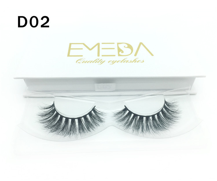 3D Mink Eyelashes Private Label Supplier JH82-PY1