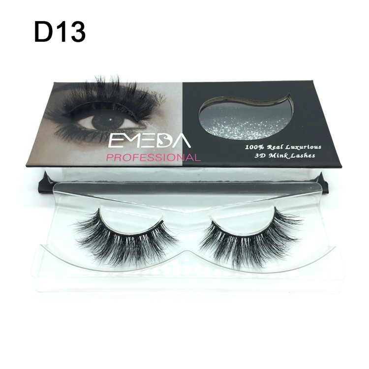 Best Selling Private Label 3D Mink Eyelashes YP-PY1