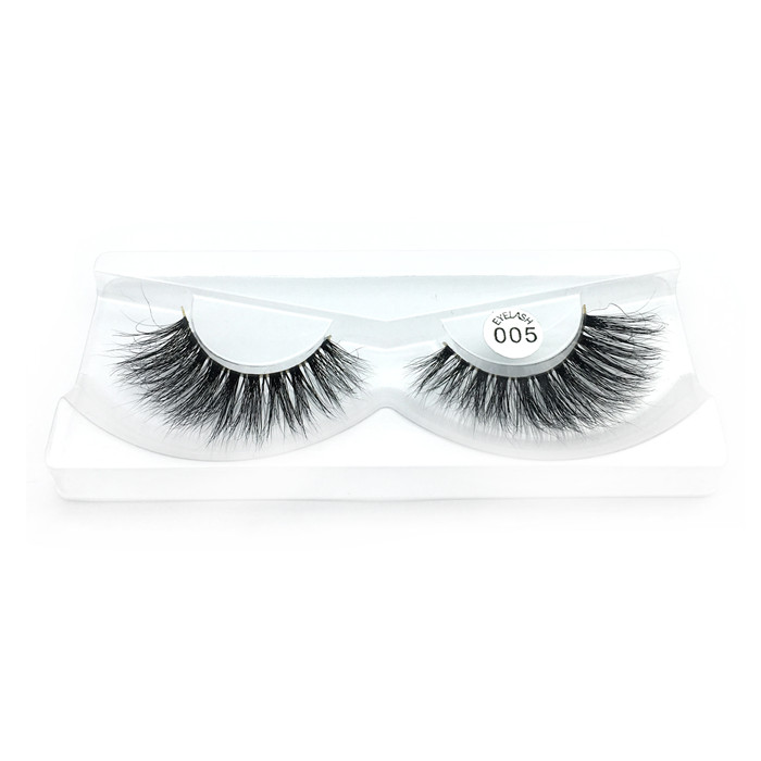 Mink eyelashes 3d mink lashes factory price JH121